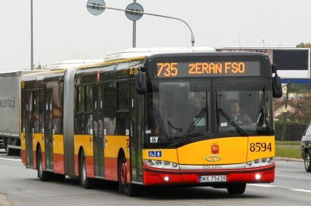 ZTM uruchomił dodatkowe kursy linii 735 ZTM