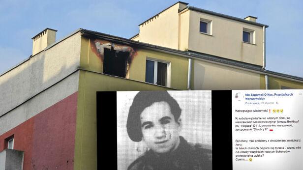 Nie żyje 91-letni Powstaniec Artur Węgrzynowicz, tvnwarszawa.pl