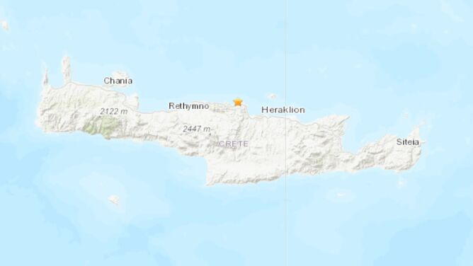 Trzęsienie ziemi na Krecie