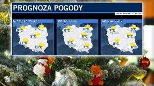 Prognoza pogody na święta Bożego Narodzenia: czeka nas typowo wiosenna aura