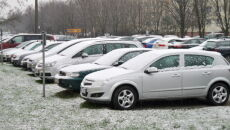 Śnieg na Bemowie
