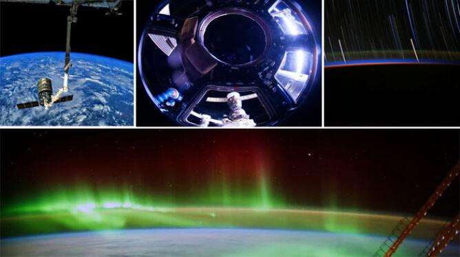 """""""Dookoła świata"""" w niecałą minutę. Zobacz, jak wygląda Ziemia z wysokości 400 km"""