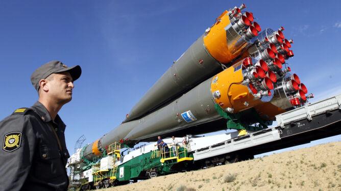 Sojuz poświęcony i gotowy do startu