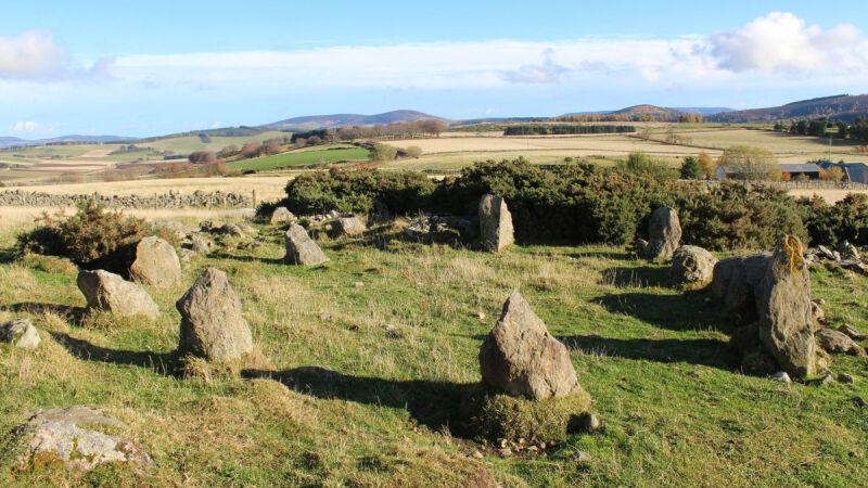 Starożytny krąg z Aberdeenshire powstał w latach 90. XX wieku