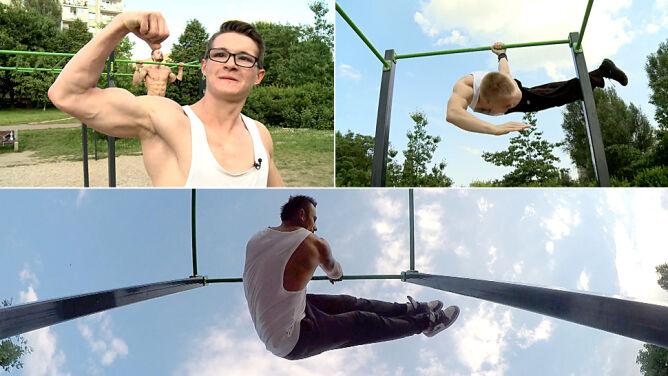 Chcesz mieć ciało atlety? Ćwicz street workout