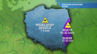 Warunki drogowe w czwartek 28.05