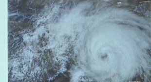 Tajfun In-fa u wybrzeży Chin