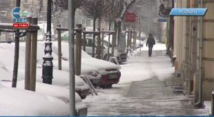 13.02 | Sypnęło śniegiem na zachodzie Polski