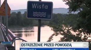 Podnosi się poziom Wisły w woj. lubelskim/TVN24
